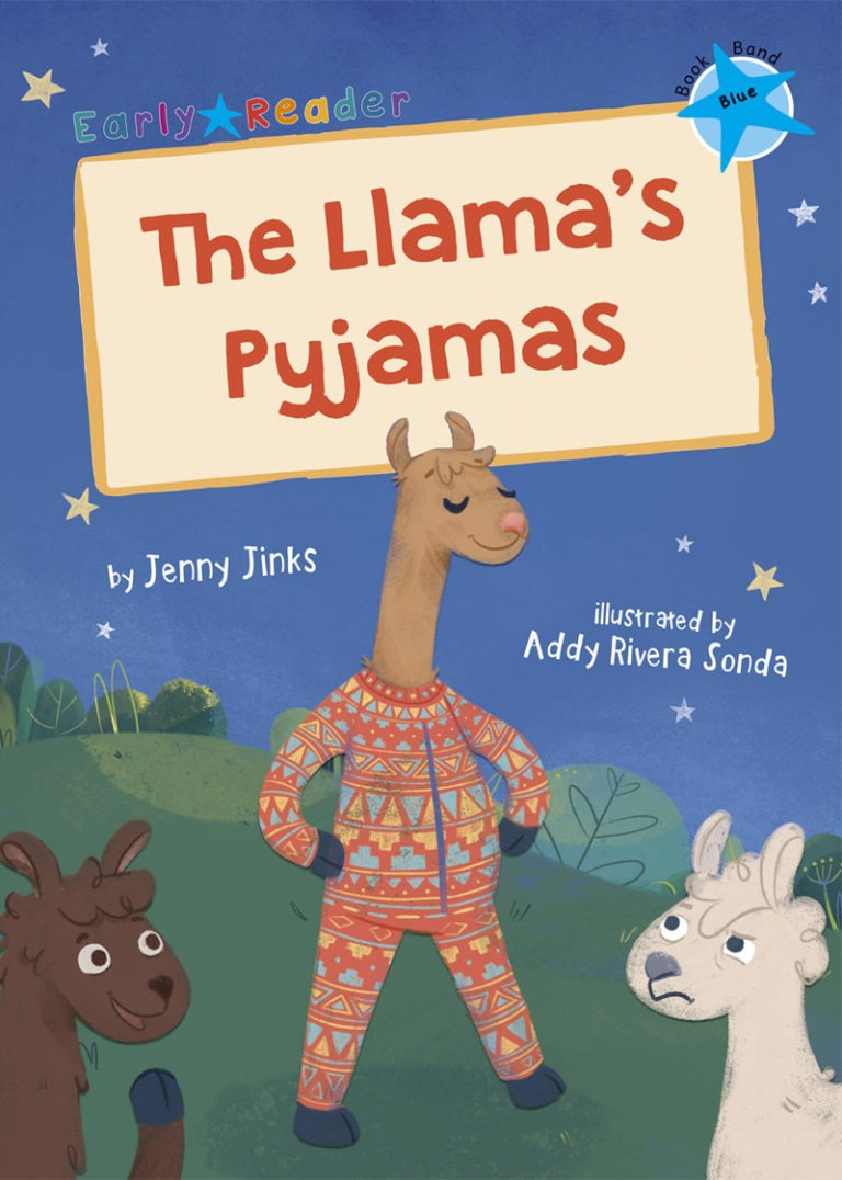 ER The Llama's Pyjamas Cover LR RGB JPEG